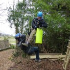 16. Squirrels Scramble - rescue training