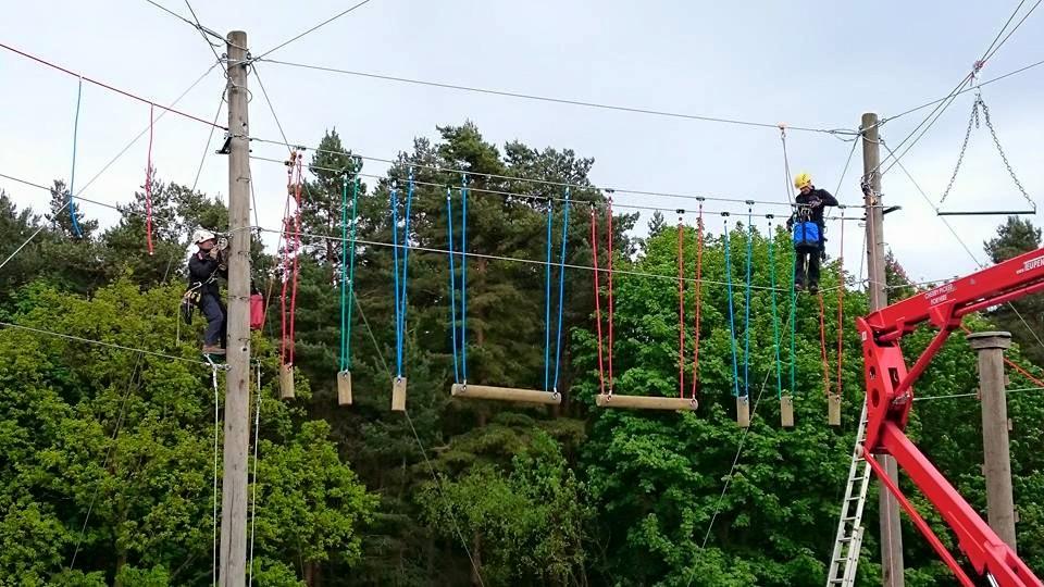 Leeds Climbing Wall >> Herd Farm Re-Wire