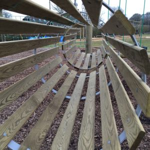 Cobnor's new Low Ropes course