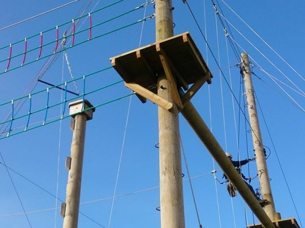 New High Ropes in Bude
