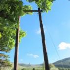 Double Peg Pole Climb