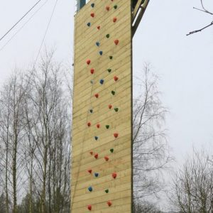 Full wall with holds