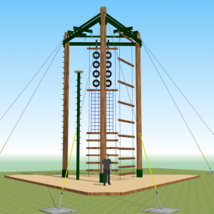 High Ropes Construction