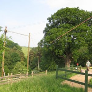 Giant Swing at Herd Farm
