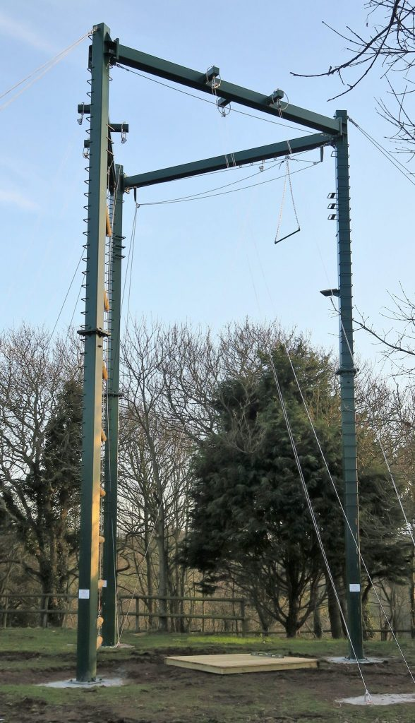 Jersey Youth (Crabbe Centre) High Ropes
