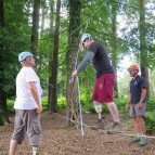 Temporary Low Ropes