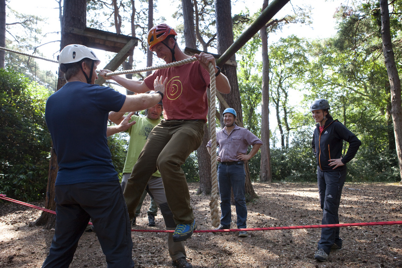 Erca Temporary Low Ropes Constructor Amp Instructor