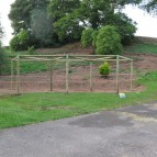 Low Ropes Pole Structure