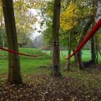 Low ropes course non invasive