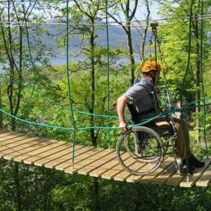 Calvert Trust Lake District wheelchair accessible course