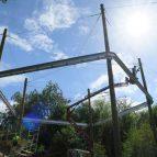 Hindleap Warren Niko-Rail Course sun