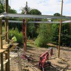 Hindleap Warren Niko-Rail Course with Splash Project platform