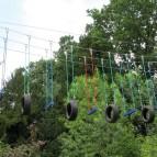 Swinging tyres & logs