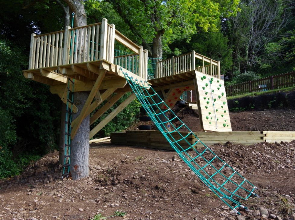 Ropes course in your garden!